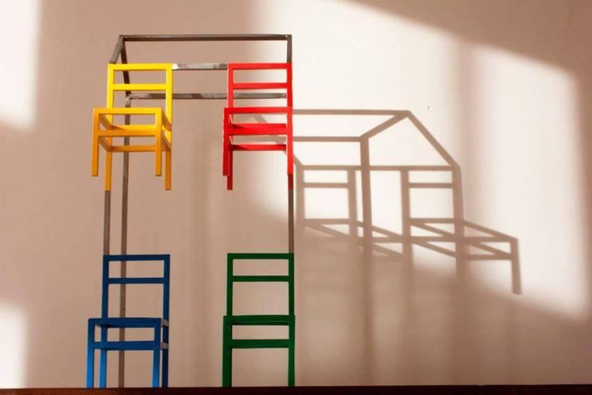 Organizzazione Ufficio : Design piatto illustrazione vettoriale elegante di organizzazione